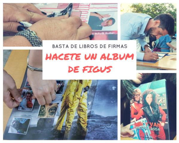 Album de Figuritas personalizado