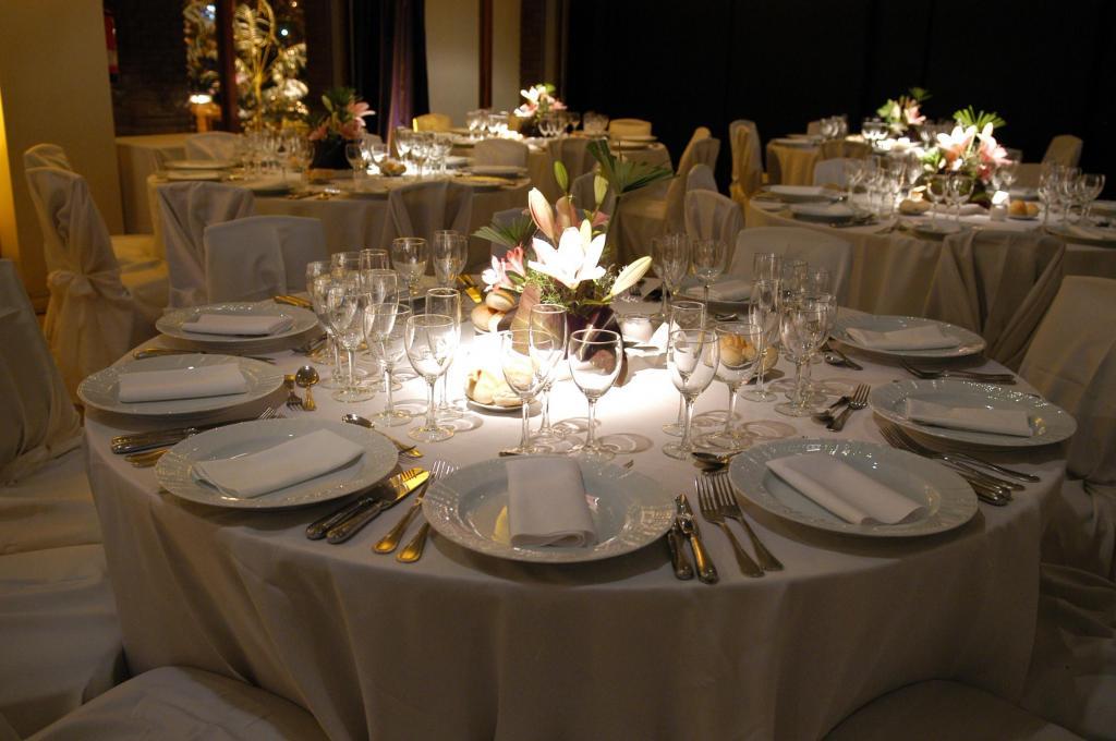 Iluminación centros de mesas