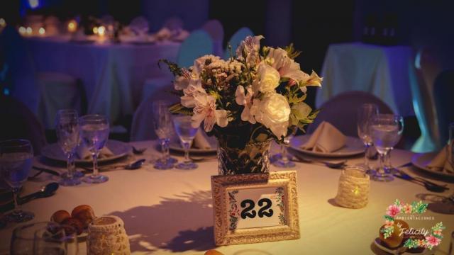 Centros de mesa para 300 pax By Felicity
