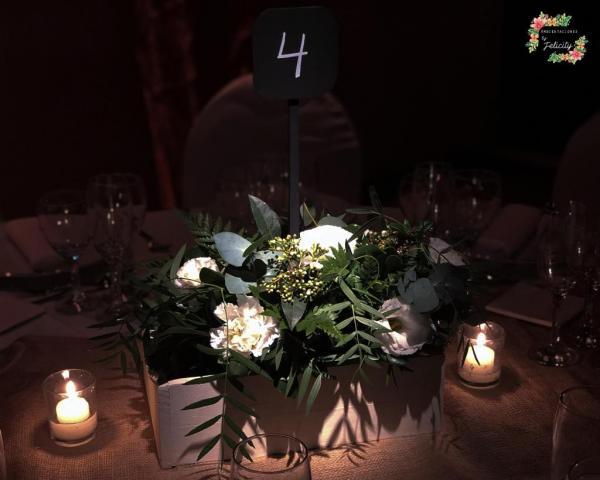 Centros de mesa para 400 pax By Felicity