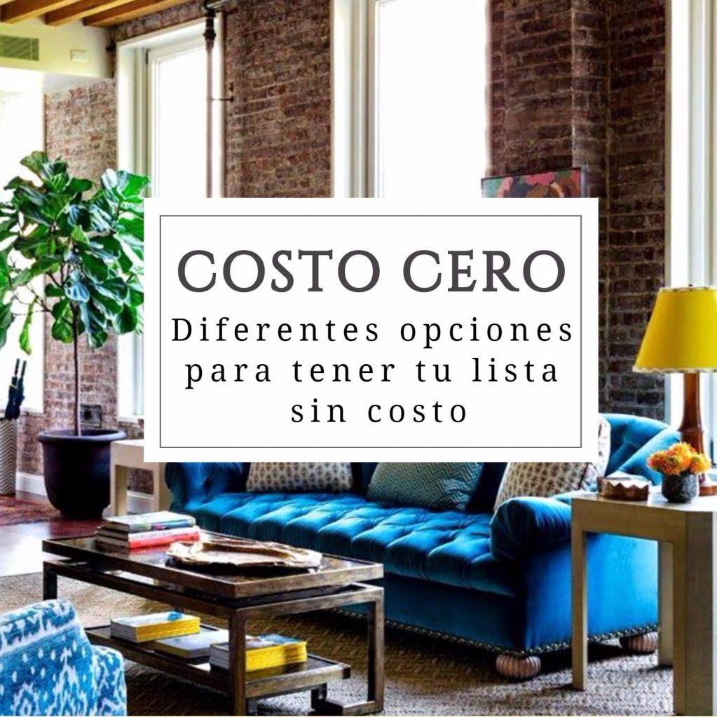 COSTO CERO - TIENDAS ADHERIDAS