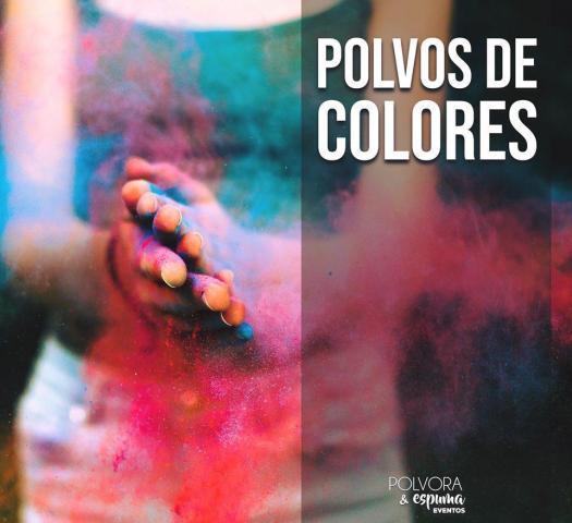Pólvora y Espuma Cotillón - Polvos de colores