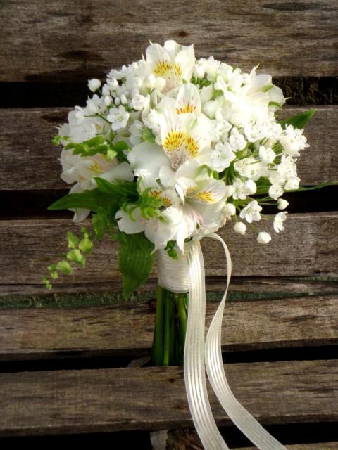 Bouquet con flores de temporada