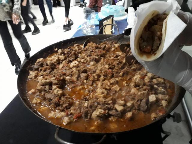Servicio de catering informal