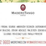 Madero Eventos - Grupo Madero Tango (Salones de Fiesta)