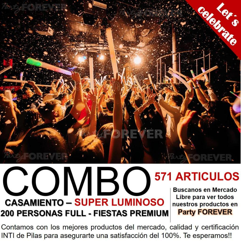 Combo Casamiento 200 personas - Full Party