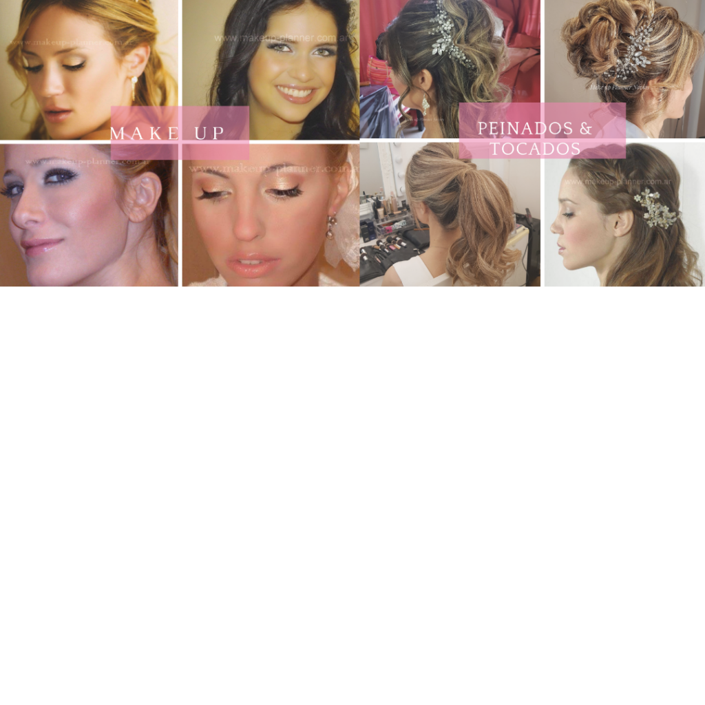 Make up Planner Maquillajes y Peinados para Novias