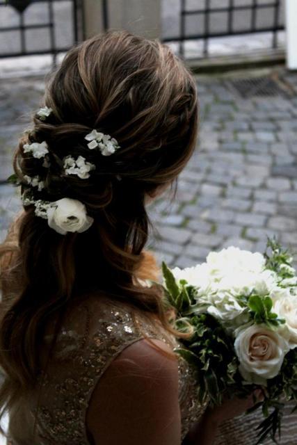 Rosa Rosa (Ramos, Tocados y Accesorios) | Casamientos Online