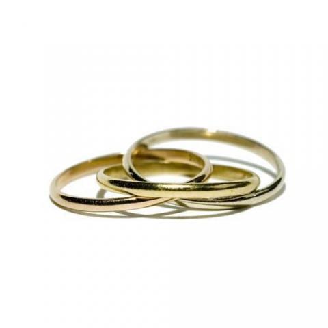 Alianzas 3 oros | Casamientos Online