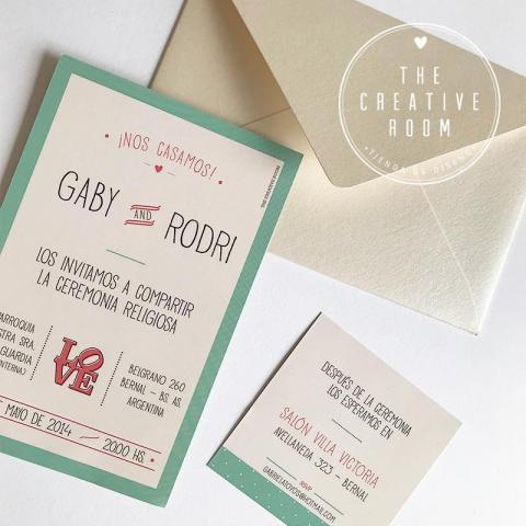 Invitación Casamiento. | Casamientos Online
