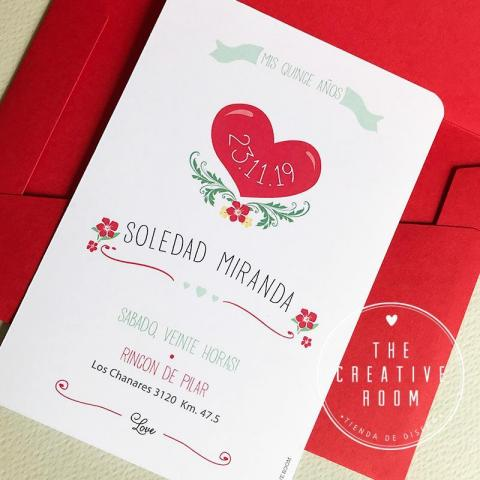 Invitación Quince Años. | Casamientos Online