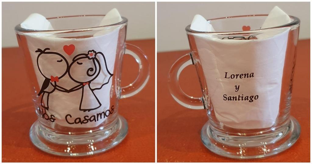jarro de vidrio ,ideal café largo