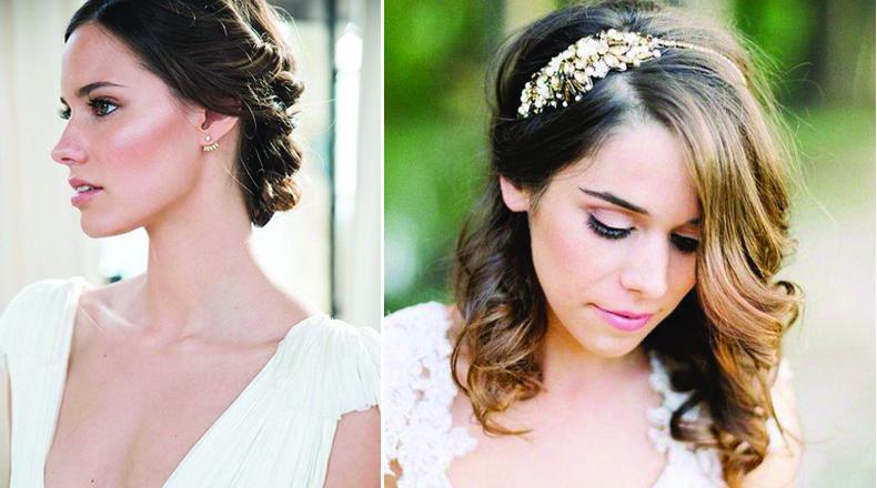 Maquillajes y Peinados romanticos