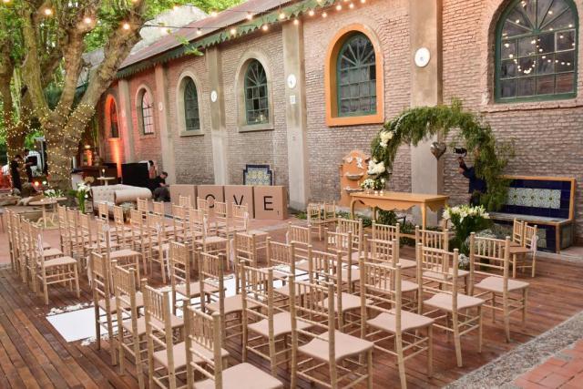 Ceremonia Patio Español | Casamientos Online