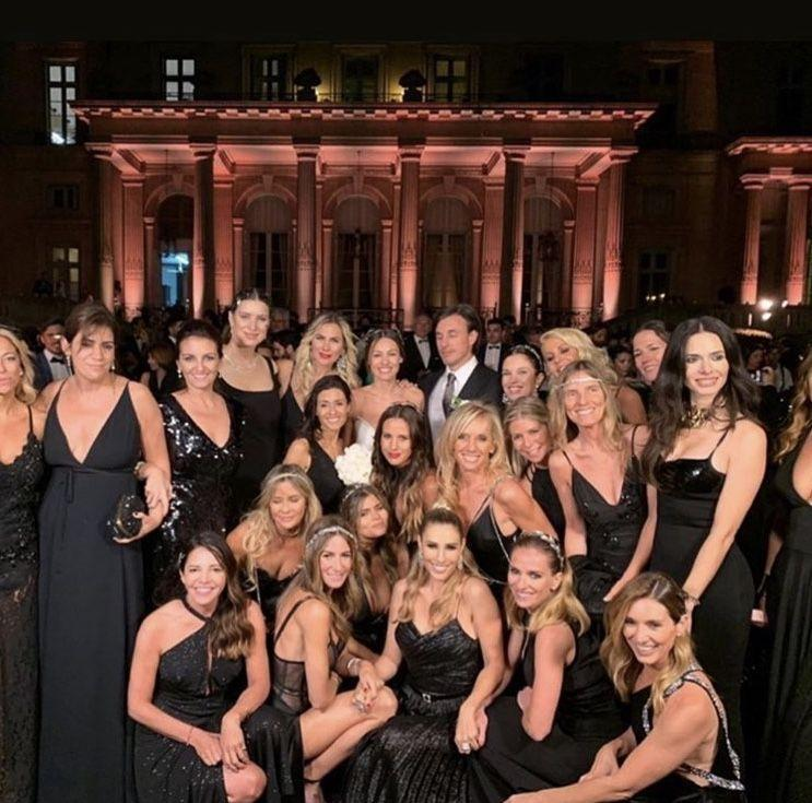 Las damas de honor de Pampita