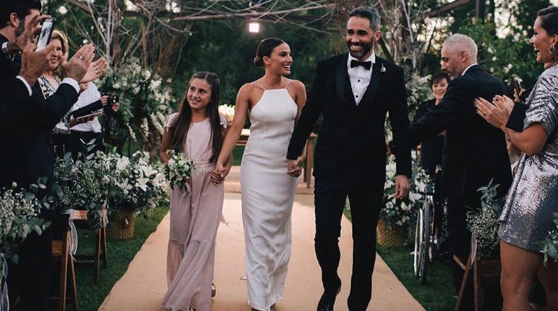 El casamiento de Pollo Alvarez y Tefi Russo