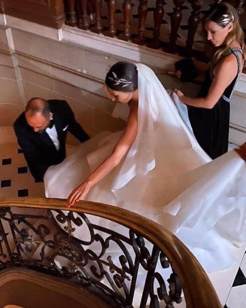 La previa al casamiento