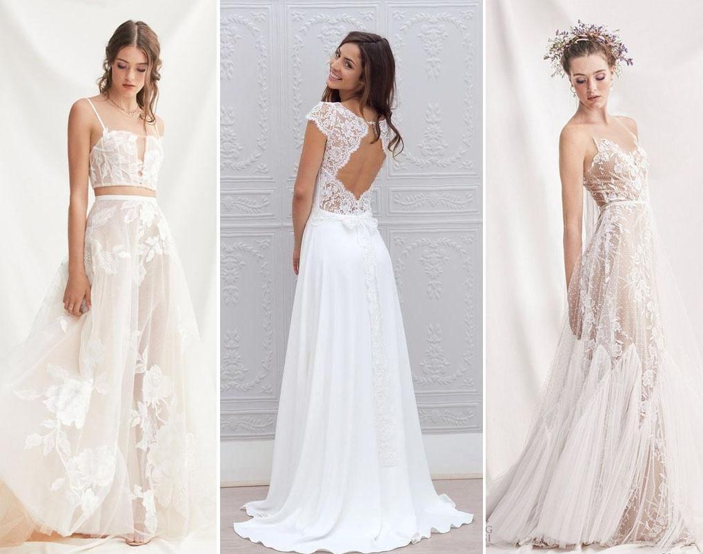 Te animás a un vestido de novia con encaje?