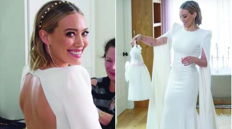 El casamiento de Hilary Duff