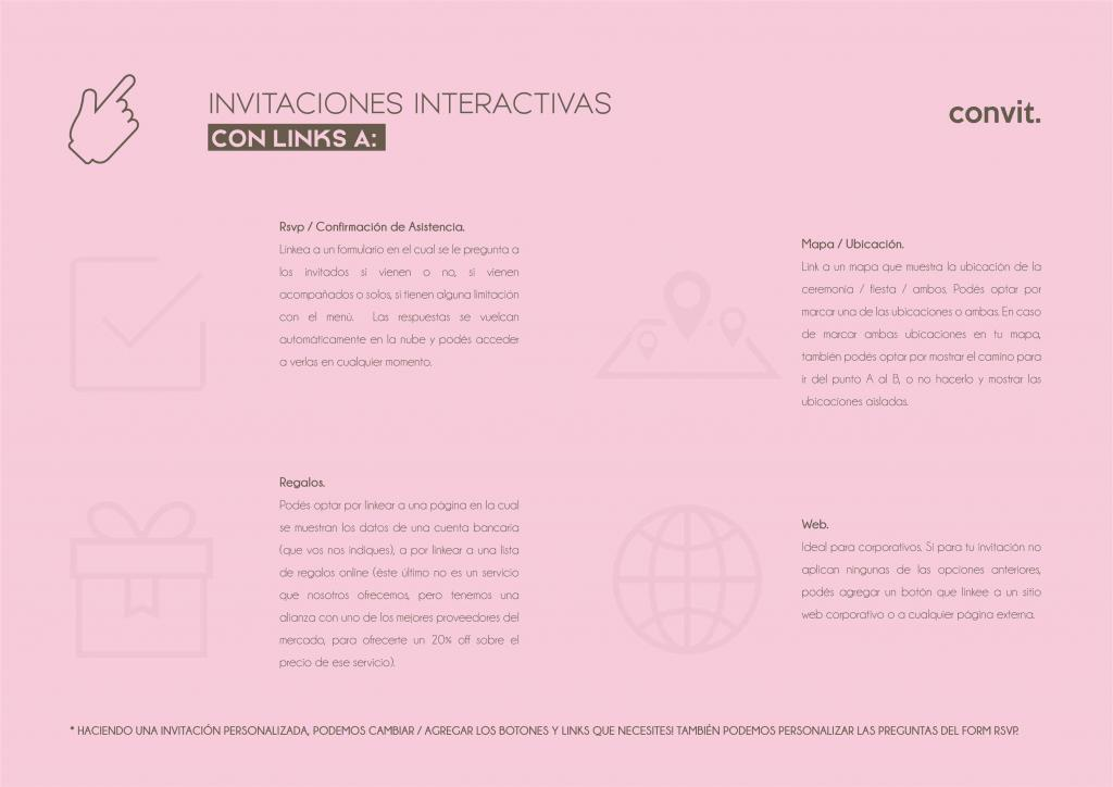 Convit Invitaciones (Participaciones)