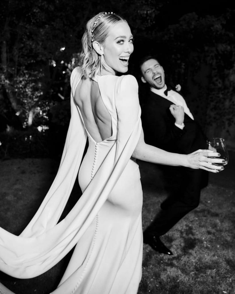 Una espalda cut out para su vestido de novia