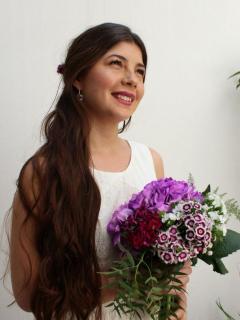 Rosa Rosa diseño floral