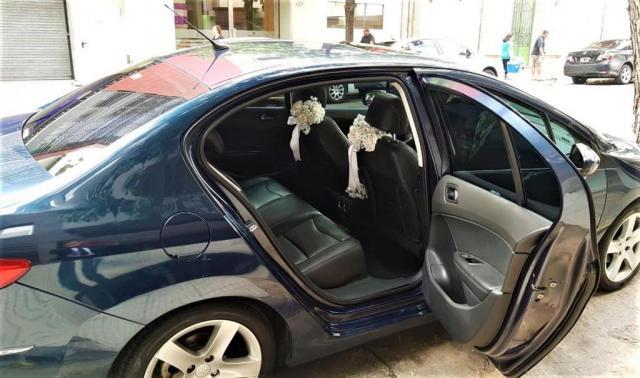 Peugeot 408 Azul oscuro | Casamientos Online