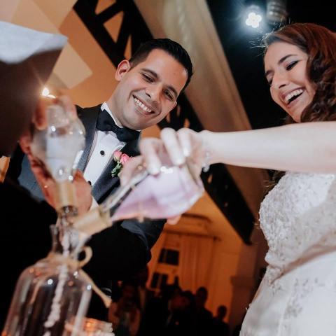 Ceremonia con ritual de arenas | Casamientos Online