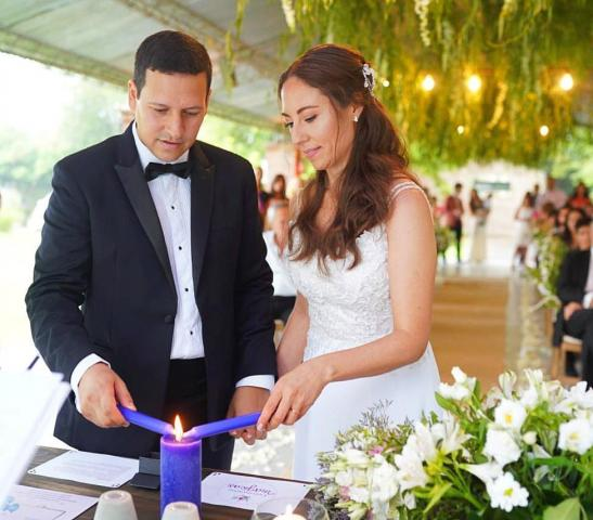 Ceremonia Personalizada Laica con Ritual de La Luz