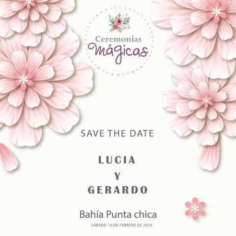 Ceremonia Personalizada + Save The Date digital de Regalo!