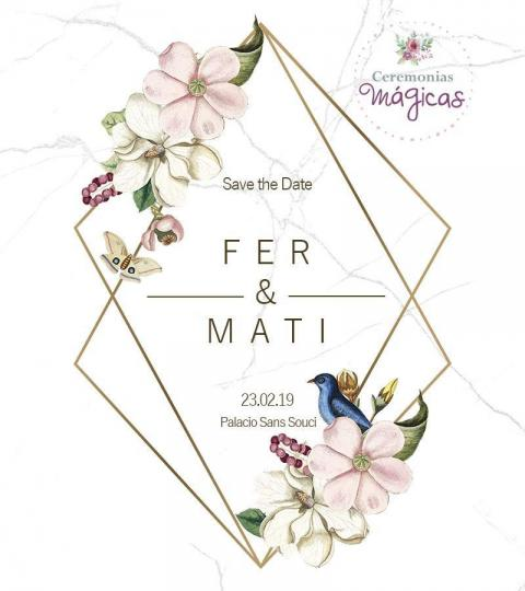 Ceremonia Personalizada + Save The Date de Regalo!