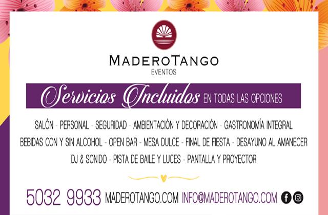 Madero Eventos - Grupo Madero Tango (Salones de Fiesta)   Casamientos Online