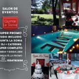 PROMO NOCHE TODO INCLUIDO: QUINTA+DJ+CATERING ALL INCLUSIVE, TOTALMENTE LIB
