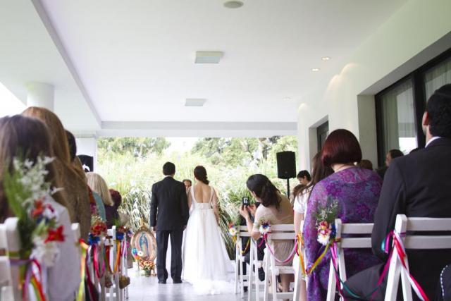 Ambientación boda Guada y Nico | Casamientos Online
