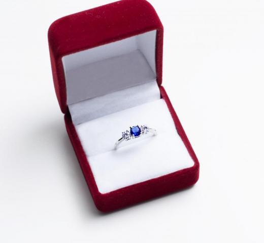 Anillo Iris Blue