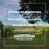 COCKTAIL DE REAPERTURA