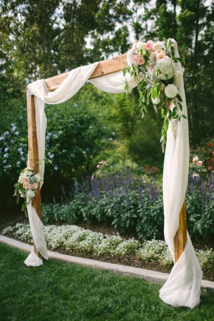Arco, ceremonia laica | Casamientos Online