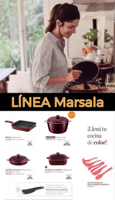 Coleccion Essen Linea Marsala | Casamientos Online