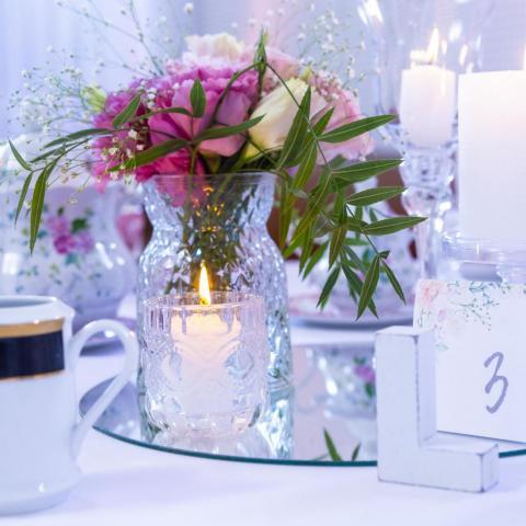 Ambientación Delicada de un Té | Casamientos Online