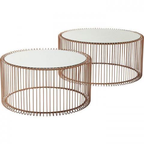 Mesas Wire de cobre (2 set)