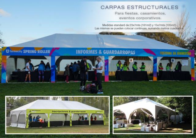 Carpas Estructurales