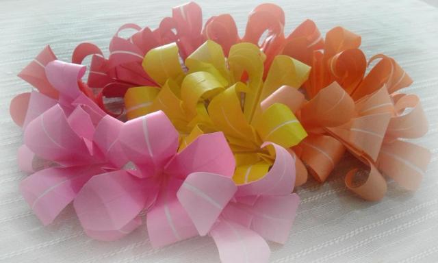 Flores de papel | Casamientos Online