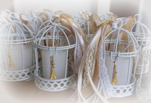 Jaulitas Souvenir + dijes  | Casamientos Online