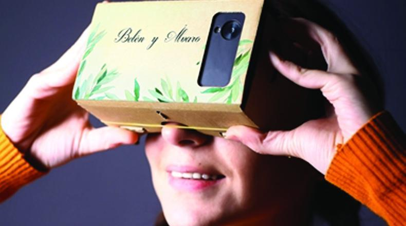 Realidad virtual en bodas