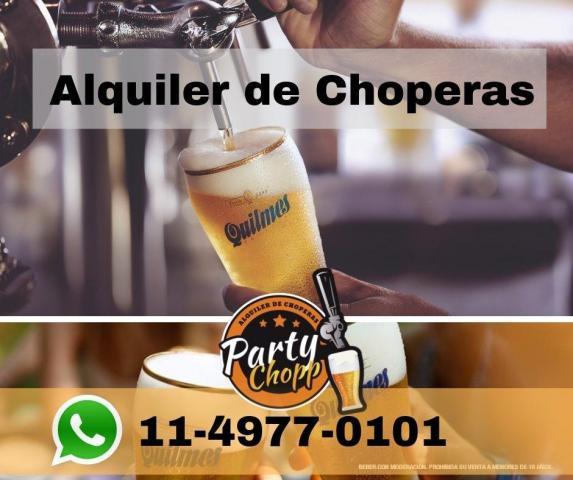 Party Chopp - Alquiler de Choperas (Bebidas y Barras de Tragos) | Casamientos Online