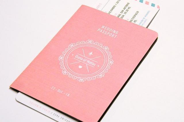 Pasaporte Liso | Casamientos Online