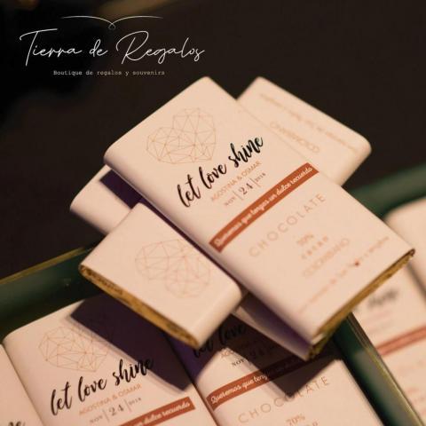 CHOCOLATES PERSONALIZADOS CACAO IMPORTADO. | Casamientos Online