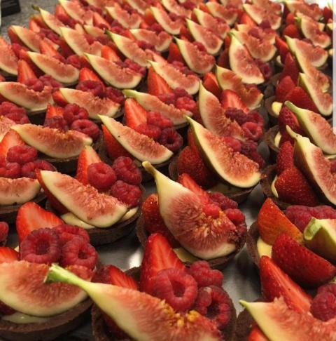 Mini tarteleta frutales