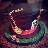 Torta temática: SOMBRERO ALICIA