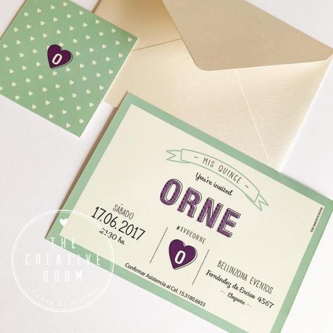 Invitación Quince Años | Casamientos Online
